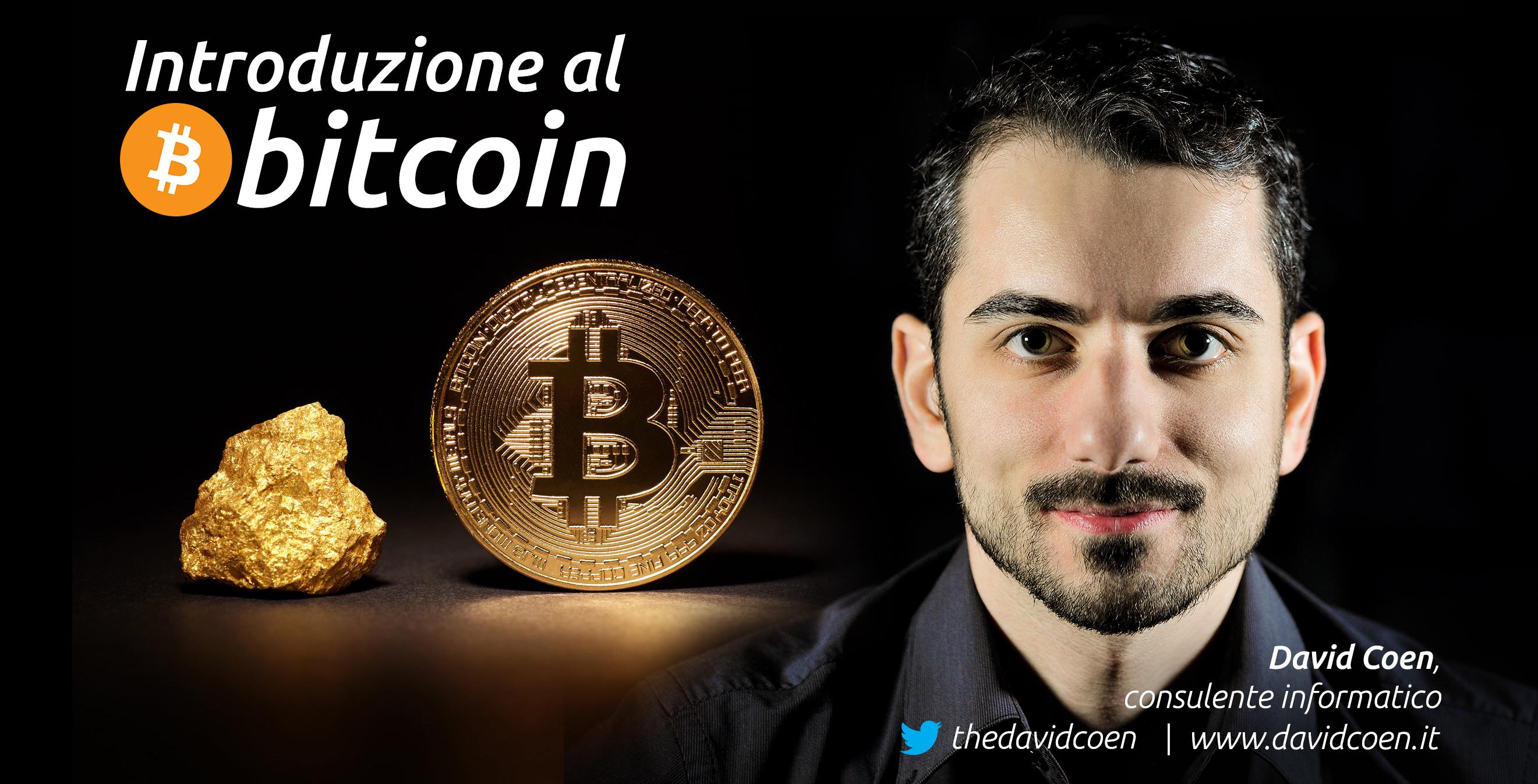 lezioni bitcoin